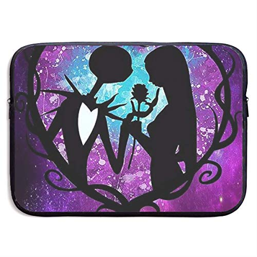Jack and Sally Nightmare Before Christmas Laptop Sleeve Bag Compatible 13-15 Inch MacBook Pro/MacBook Air/Surface Book/Surface Laptop