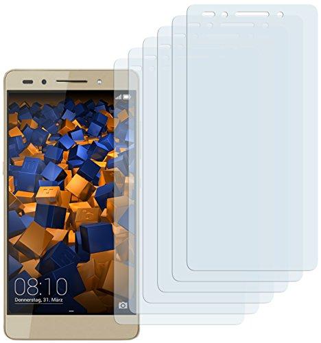 mumbi Schutzfolie kompatibel mit Huawei Honor 7/7 Premium Folie klar, Bildschirmschutzfolie (6X)