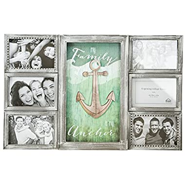 Family Anchor Collage Wall Frame by Boston Warehouse