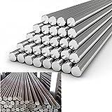 1 pieza de acero inoxidable 304 barra redonda de metal sólido diámetro 3-6 mm longitud 125 mm-500 mm-4 mm, 200 mm