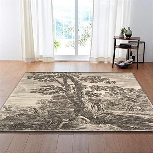 Nordic Wohnzimmer Carpet Kunst statuen Druck Teppich Matte rutschfeste Flanell warme Schlafzimmer Engel Idol heimatbereich Teppich teppiche @ a03_115x160cm