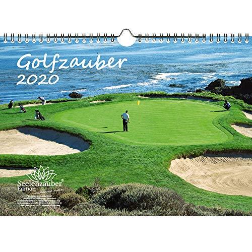 Golfmagie DIN A4 kalender 2020 Golf en golven - Zelmagie