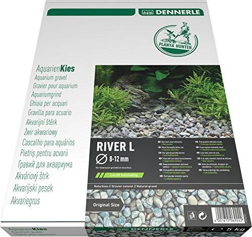 Dennerle Plantahunter River Gravier Naturel pour Aquariophilie Taille L