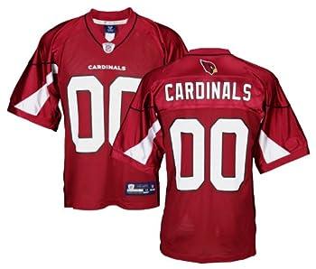 Arizona Cardinals NFL Mens Team Replica Jersey Red  Small