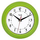 Equity by La Crosse 25016 Analog Wall Clock 8', Green