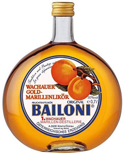 Bailoni Wachauer Gold Marillenlikör, 30 % Vol.Alk. - 0.7L