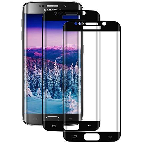 Aspiree, pellicola protettiva in vetro temperato compatibile con Samsung Galaxy S7 Edge, durezza 9H, HD ultra trasparente, antigraffio, anti-olio, pellicola protettiva per S7 Edge (2 pezzi)