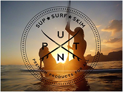 PUNT SURF Dog Traction Pad - 4 Piece Customizable Deck Grip for The Nose of Your Paddleboards, Longboards & Surfboards. - Guaranteed to Stick Forever on Your Board [White]