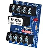 Altronix Relay module (12vdc or 24vdc, 5amp/115vac/28v dc dpdt contact) RB1224 (2 Pack)