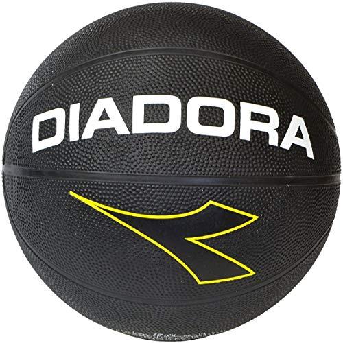 Diadora TO189 Basketball Indoor und Outdoor Ball, leichtes Kunstleder, Gr. 7, orange, Training Spielball Street Wettkampf