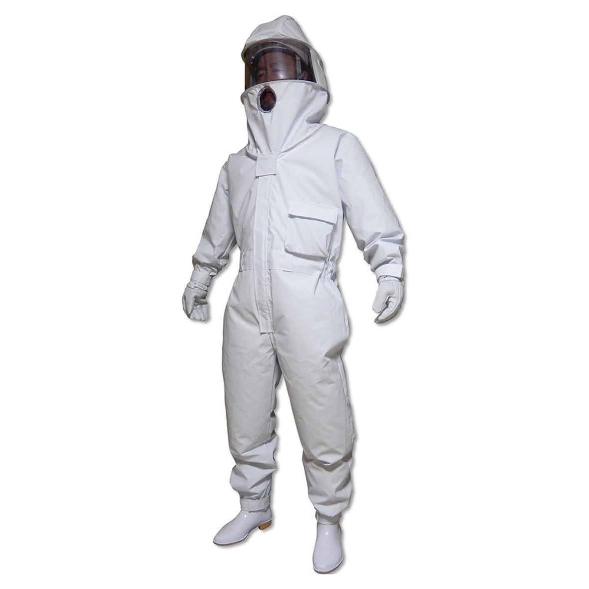 敵意悲観主義者運営蜂防護服 ホーネットⅠ 冷却ファン4個付(スズメバチ対策用)