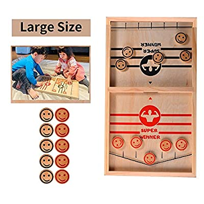 Amazon - 50% Off on Large Size,Parents&Kids Game, Tinfence Table Desktop Battle,Fast Action
