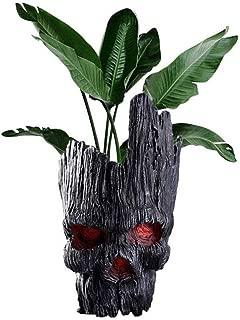 Zerhhoa Groot- Action Figures Guardians of The Galaxy Flowerpot Baby Cute Model Toy Pen Pot - Kids Gifts (Black)