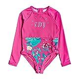 Roxy Girls UV50 + Magical Sea Onesie Onesie - Pink Flambe Sunnyplace - Protection Solare UV e Properties SPF