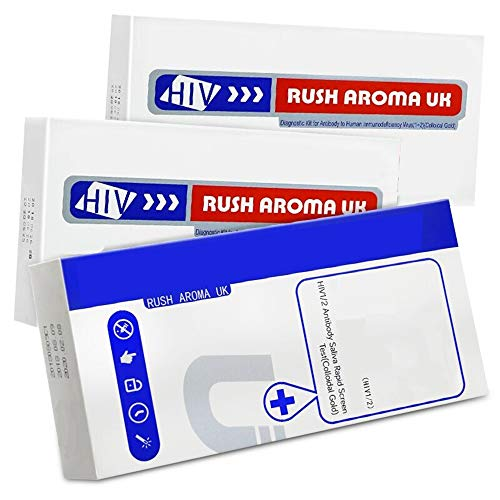 Aids Self-test, Hiv Quick Test Blood Test Paper 3 dozen voor Family Combination Test Box voor Early Aids Diagnosis,2 blood test + saliva test