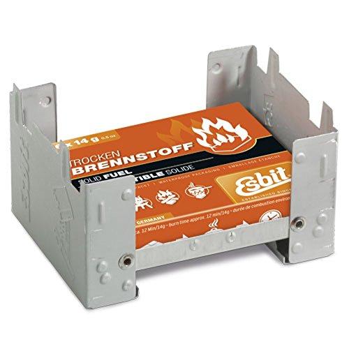 Esbit Trockenspiritus-Würfel Camping Kocher Esbitkocher 6x14g 00209100 Stahl verzinkt