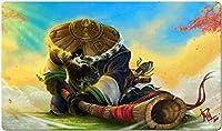 ワールドオブウォークラフト マウスパッド World of Warcraft マウスパッド 大型 WOW プレイマット ゲーミング オフィス最適 防水 滑り止め 耐久性が良いゲーム おしゃれ, ワールドオブウォークラフト マウスパッド ゲーミング マウスパッド ゲーム 水洗い 光学式マウス適用 60X35cm-60