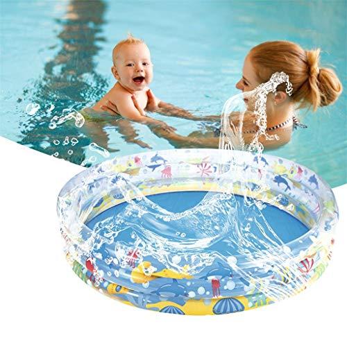 WYFDM Fiesta del Agua inflables del Grueso Piscina para niños Verano de alimentación para el bebé de los niños Piscina para Adultos,152 * 30cm