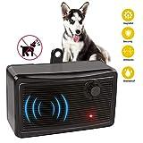 CYWEB Hund Ultraschall Anti Bellen Repeller Effektive Hund Antibell Trainer Barking Stoppen Trainingsgerät, Bellkontrolle für große und kleine Hunde (Schwarz-Neu)