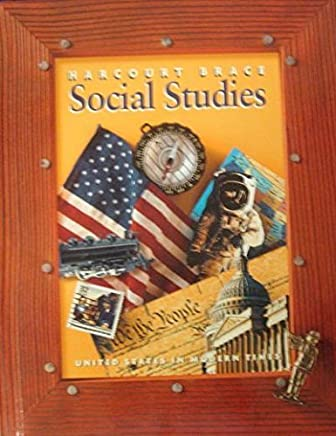 Harcourt School Publishers Social Studies: Student Edition Us In Modern Times Hb Soc Std 2000 by HARCOURT SCHOOL PUBLISHERS (1999-05-27)