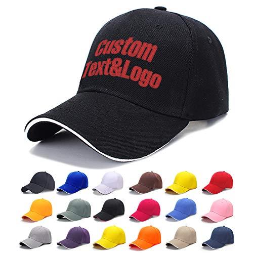 MEINAMI Una Unidad Gorra de béisbol Personalizada 100% algodón Sombrero Bordado Personalizado Gorra
