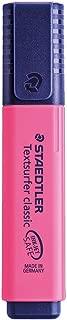 Staedtler Textsurfer Classic Highlighter Inkjet-safe Line Width 2.5-4.7mm Pink Ref 36423 [Pack 10]