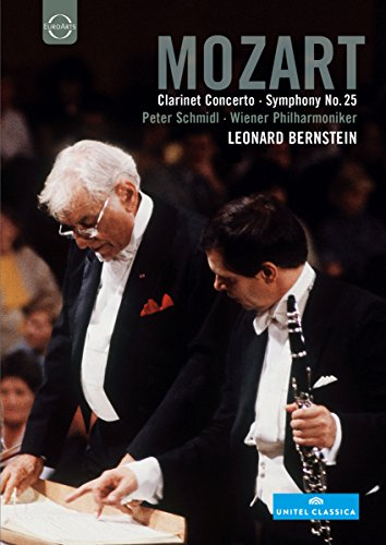 Mozart, Wolfgang Amadeus - Clarinet Concerto and Symphony No. 25
