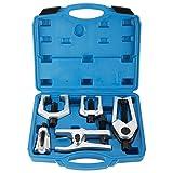 Freetec Kit Di 6 Pezzi Estrattore Per Giunto Sferico Attrezzo Per Giunto Di Sospensione Giunto Sferico Testa Del Tirante