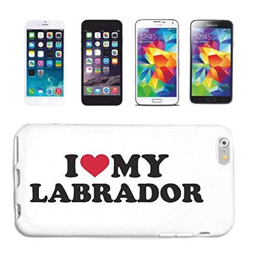 Reifen-Markt Funda para iPhone 6 I Love My Labrador perro deporte razas perro cría perro perro cubierta Smart Cover