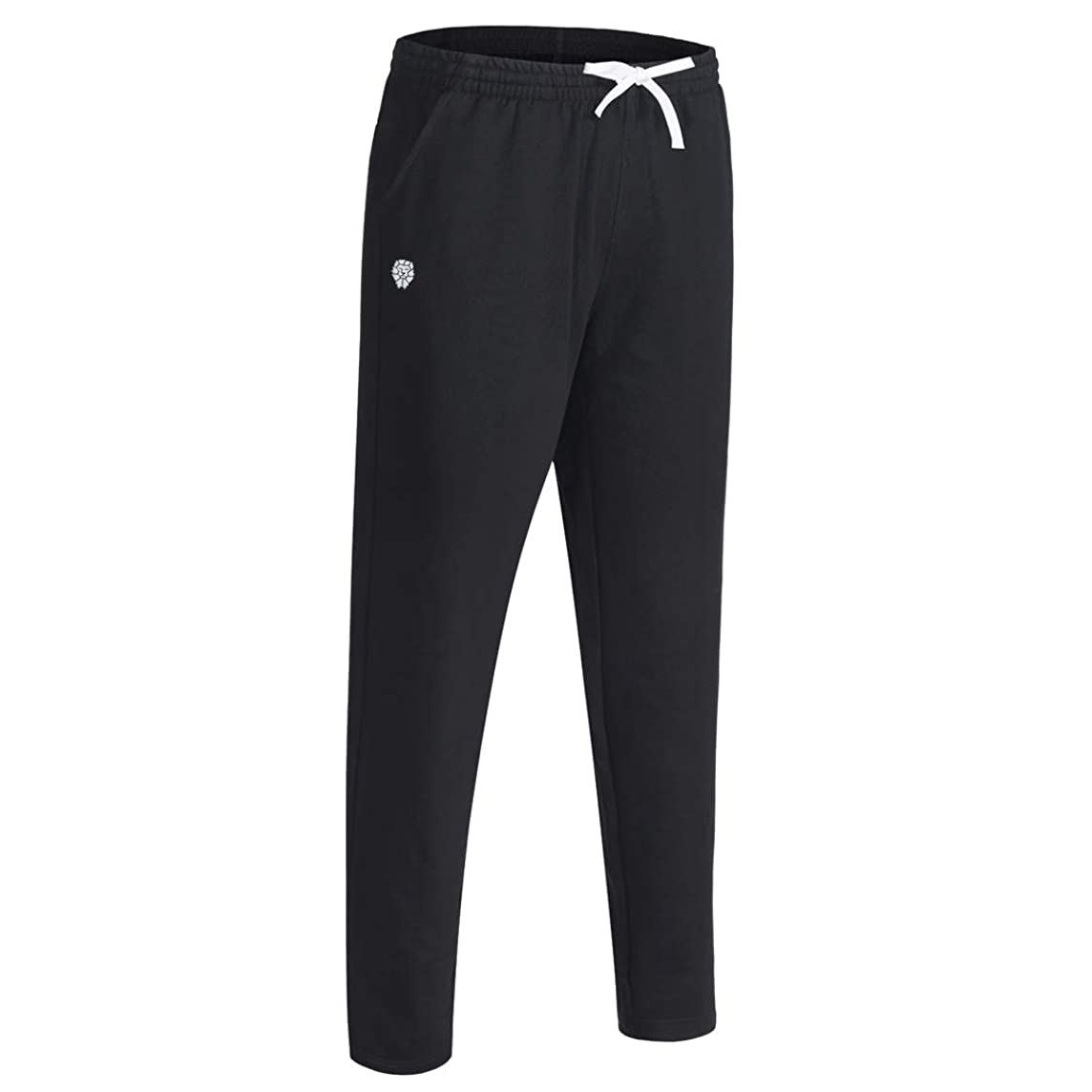 PIQIDIG Boys Tapered Athletic Pants Youth Sweatpants with Pockets for Running, Training, Soccer