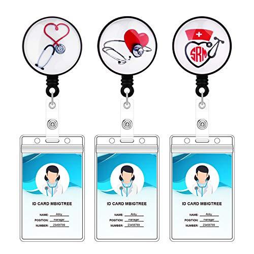 Bolly Ausweishalter für Krankenschwestern und Ärzte, 3 Stück