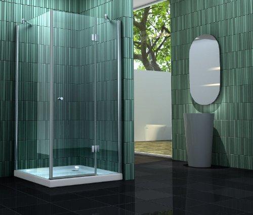 Duschkabine SILL 90 x 90 x 180 cm ohne Duschtasse
