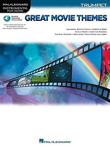 Great Movie Themes - -For Trumpet- (Book & Online Audio): Play-Along, Sammelband, Download (Audio) für Trompete (Hal Leonard Instrumental Play-along)