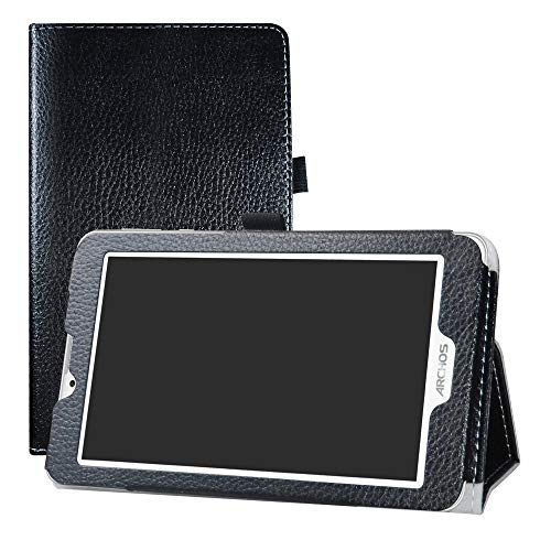 "LFDZ Archos Access 70 3G Custodia, Slim Ultra Pelle Sottile e Leggera Cover Case Custodia per 7.0"" Archos Access 70 3G Tablet,Nero"