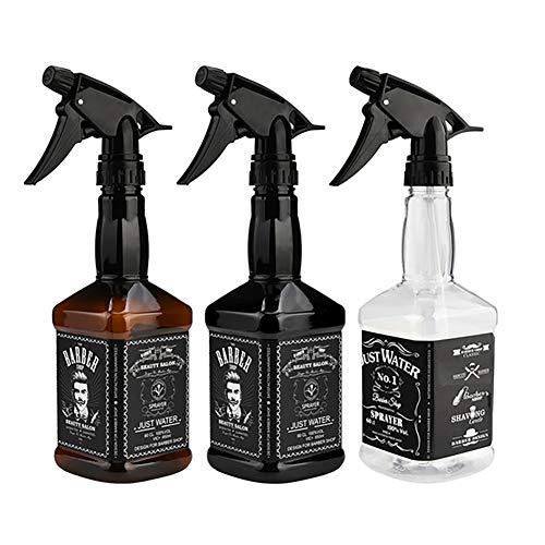 1PC Botellas del Aerosol vacío Recargable pulverizador de gatillo Botella de Agua del rociador para el Aceite Esencial, Cocina, baño, Pelo (650ml / 22oz) Modelado Decoración