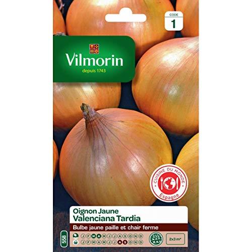 Vilmorin - Sachet graines Oignon jaune valenciana Tardia