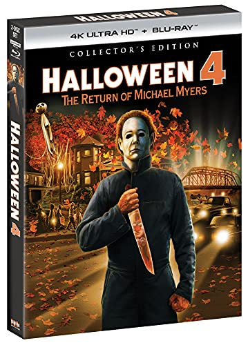 Halloween 4: The Return of Michael Myers - Collector's Edition [4K UHD] [Blu-ray]