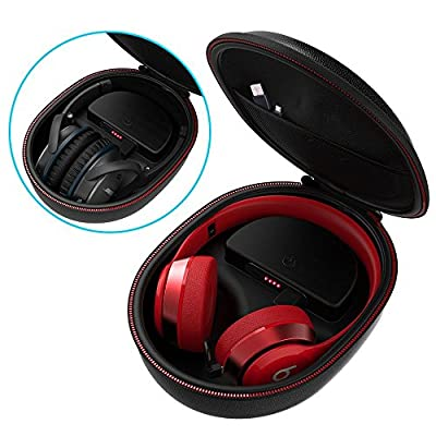Smatree Charging Case Compatible for Beats Solo2/Solo3/Studio3 Wireless On-Ear Headphone(Headphone is NOT Included) from Smatree