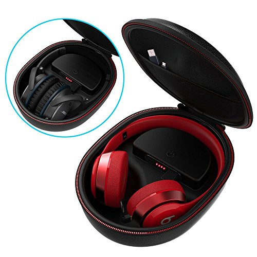 Smatree Charging Case Compatible for Beats Solo2/Solo3/Studio3 Wireless On-Ear Headphone(Headphone is NOT Included)