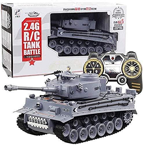 Deportes al aire libre 1:18 RC German Tiger Army Tank Toys Tanque...