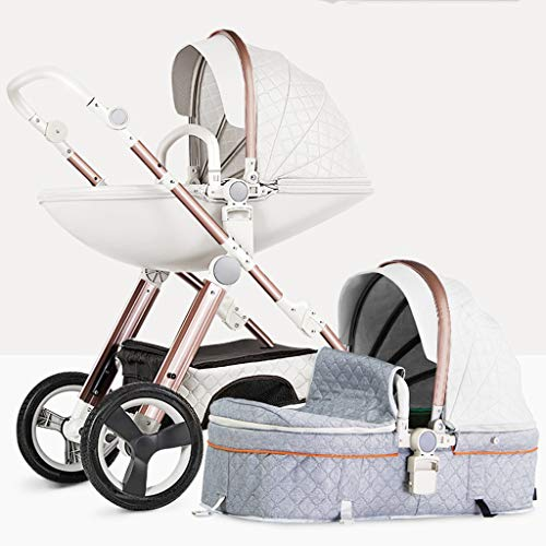 Great Price! Egg Stroller, Baby Stroller Carriage with Adjustable Seat Height Angle and Four-Wheel S...