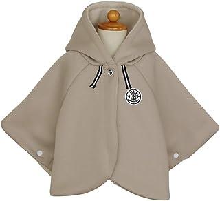 DORACO ベビー ポンチョ 防寒 アウター マント 赤ちゃん キッズ コート フード付き 日本製