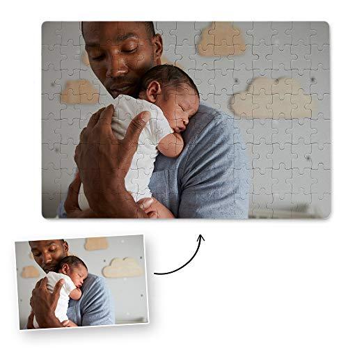 Fotoprix Puzzle Personalizado con tu Foto preferida y Texto de 60 Piezas | 5 Modelos Disponibles | Regalo Original con Foto Personalizada | Tamaño: 20x30 cms