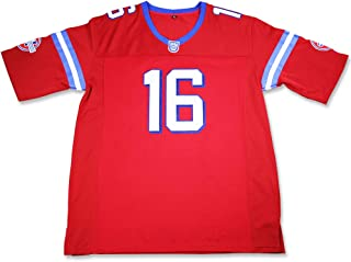 Shane Falco 16 Washington Sentinels Home Football Jersey Replacements Includes League Stitch Neo