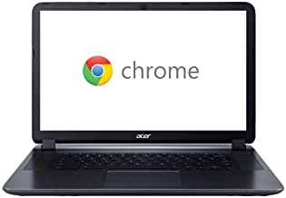 """2018 Acer CB3-532 15.6"""" HD Chromebook with 3x Faster WiFi, Intel Dual-Core Celeron N3060 up to 2.48GHz, 2GB RAM, 16GB SSD,..."""