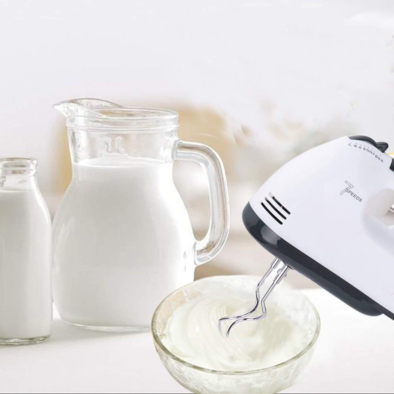 Zoomy far Electric Egg Beaters 7 Speeds Hand Mixer 180W Egg Beater EU Plug Milk Foamer Fer Kitchen Tools