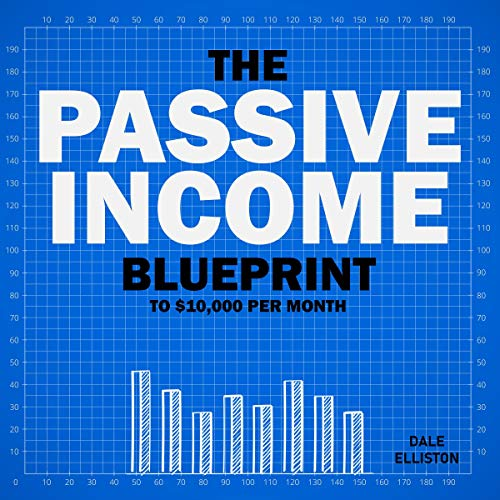 The Passive Income Blueprint to $10,000 per Month: Passive Income Ideas for Shopify, Ecommerce, Amazon FBA, Retail Arbitrage, social Media, Affiliate Marketing, Dropshipping, YouTube & Instagram audiobook cover art