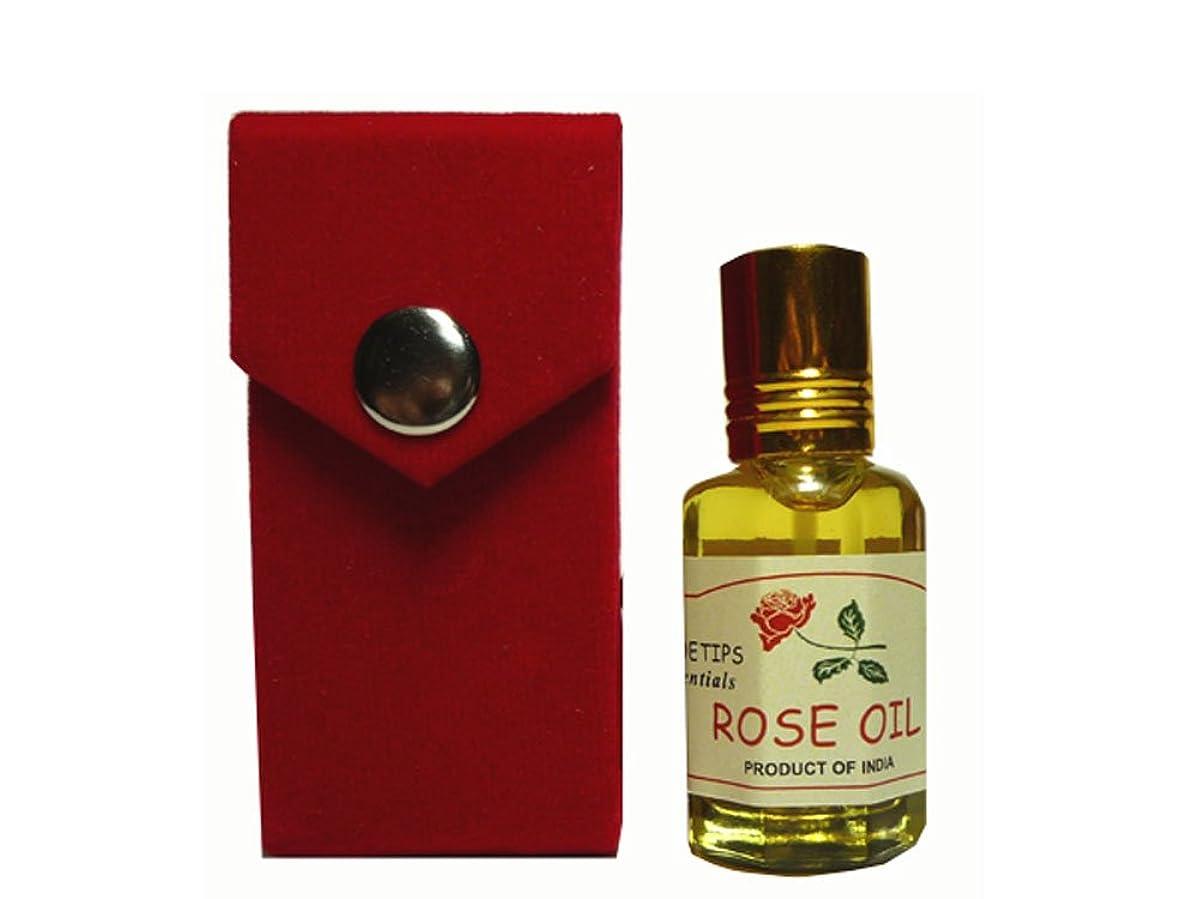 写真撮影伝導率義務づけるペコー ティップス ダマスクローズ オイル オット 100%精油(インド産 精油)PEKOE TIPS TEA ROSE ESSENTIAL OIL ROSA DAMASCENA(Damask rose) 12ml