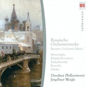 Orchestral Music (Russian) - Michael Glinka / Nikolai Rimsky-Korssakoff / Modest Peter Mussorgsky / Peter Iljitsch Tschaikowsky / Alexander Borodin