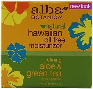 Alba Botanica Hawaiian, Aloe & Green Tea Oil-Free Moisturizer, 3 Ounce (Pack of 2)